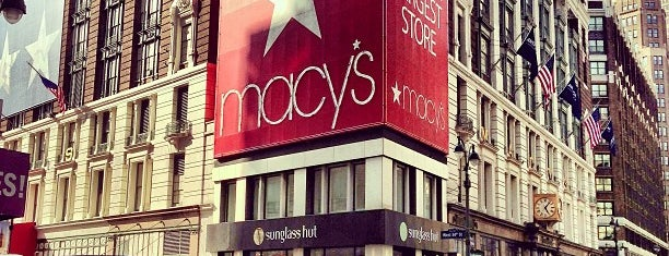 Macy's is one of What's up, New York.
