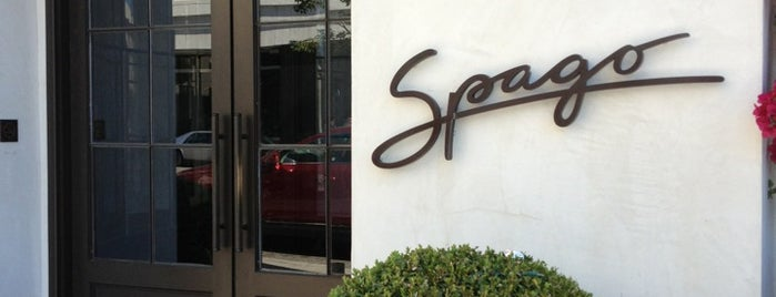 Spago Beverly Hills is one of Amex Mag.