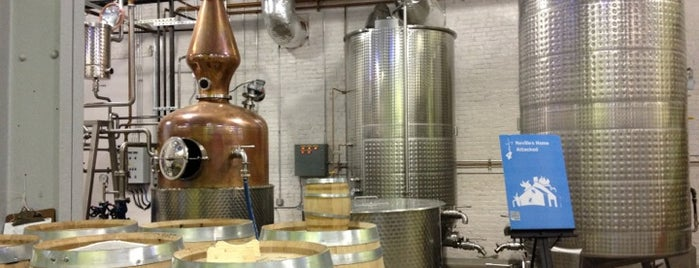 Wigle Whiskey is one of Pittsburgh.