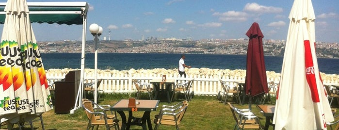 Batı Garden Cafe & Restaurant is one of Orte, die Tuba gefallen.