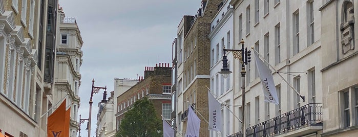 Mayfair is one of London.