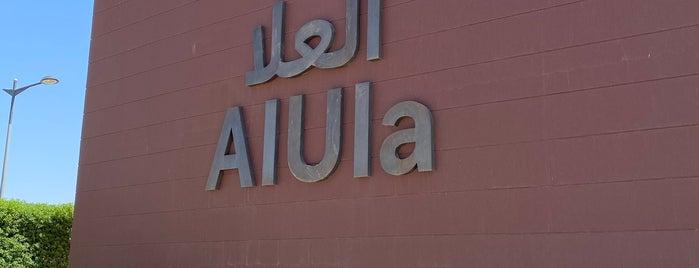 Prince Abdulmajeed Bin Abdulaziz Domestic Airport (ULH) is one of Al oula.