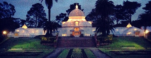 Conservatory of Flowers is one of Bay Area.