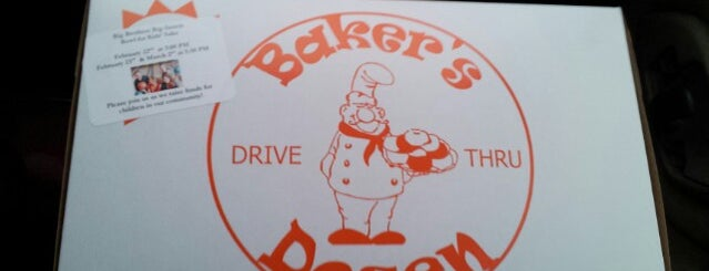 Bakers Dozen is one of Locais salvos de Kyle.