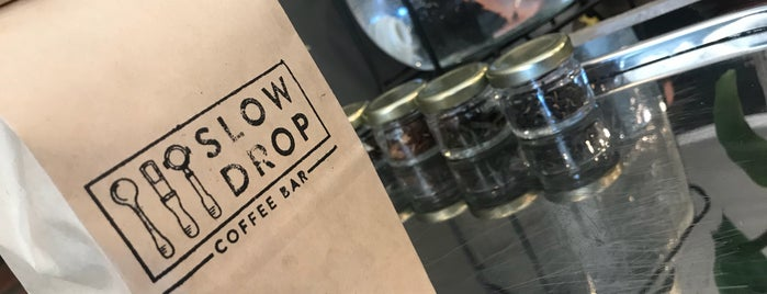Slow Drop is one of Santiago Specialty Coffee Shops.