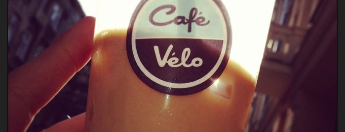 Cafe Velo is one of Irinaさんのお気に入りスポット.