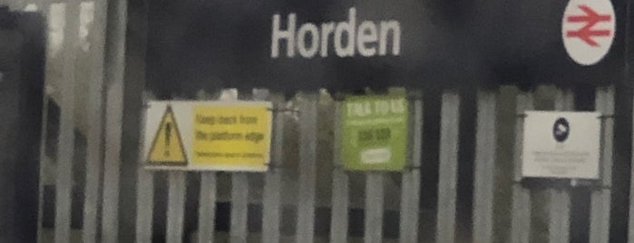 Horden Railway Station (HRE) is one of In Development.