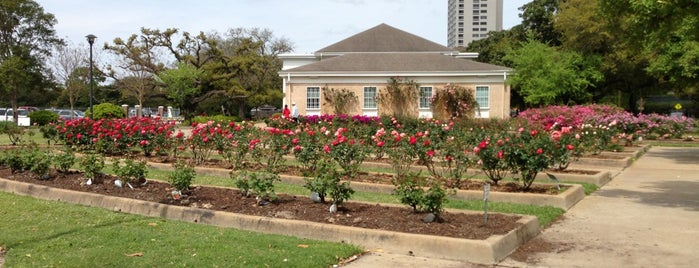 Houston Garden Center *Rose Gardens* is one of Lieux qui ont plu à Andres.