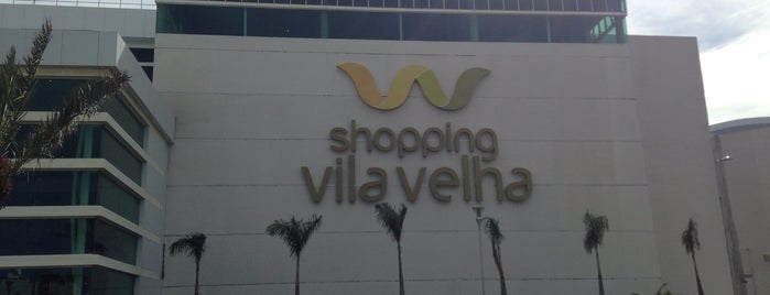 Shopping Vila Velha is one of Orte, die Guilherme gefallen.
