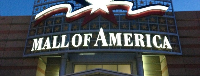 Mall of America is one of Back Home in Minneapolis.