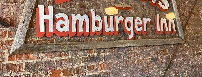 Latham's Hamburger Inn is one of Top.