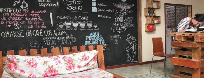 ArteSano Café & Boutique is one of Santiago de Chile.