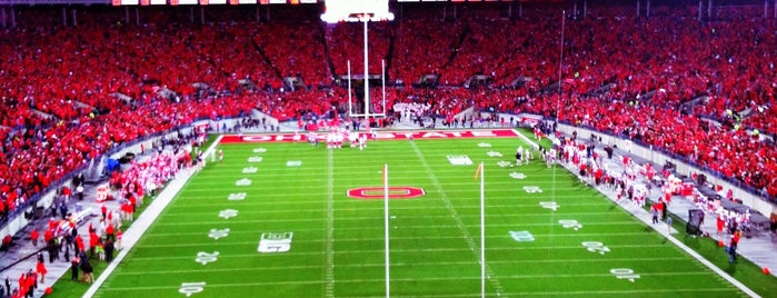 Ohio Stadium is one of Amarica Football.
