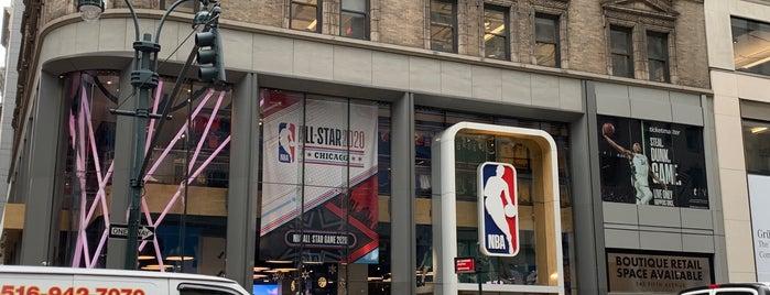 NBA Store is one of Paula 님이 저장한 장소.