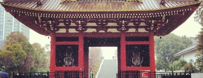 旧台徳院霊廟惣門 is one of Tokyo.