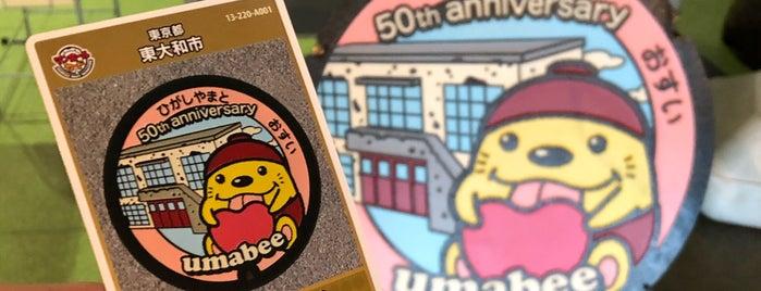 東大和市立郷土博物館 is one of 東京都:マンホールカード配布.