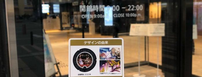 としま区民センター is one of 東京都特別版マンホールカード.