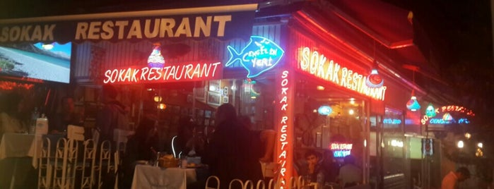 Sokak Restaurant Cengizin Yeri is one of Locais curtidos por Gulten.