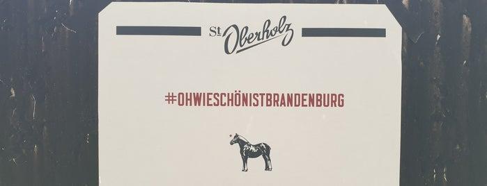 Wehrmühle is one of Brandenburg.