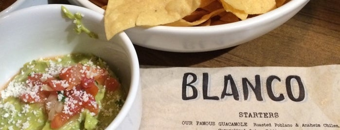 Blanco Tacos + Tequila is one of Locais curtidos por Natalie.