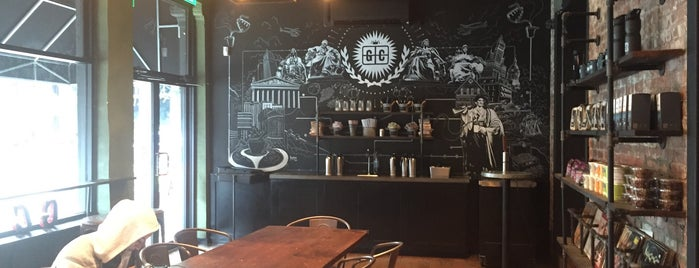 Ground Central Coffee Company is one of FiDi Coffee.