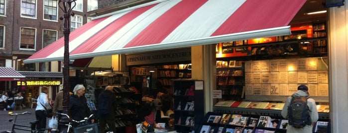 Athenaeum Boekhandel is one of Amsterdam Favorites.