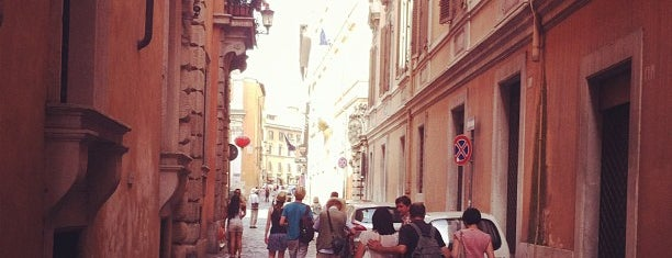 Via dei Due Macelli is one of Gabriele d'Annunzio -  #ilVate4sq.