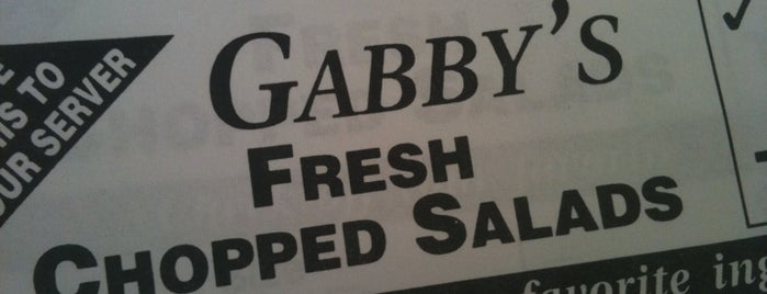 Gabby's Gourmet Bagelatessen is one of Places I've Reviewed.