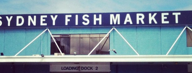 Sydney Fish Market is one of Australia & New Zealand.