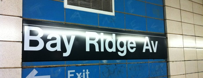 MTA Subway - Bay Ridge Ave (R) is one of Bay Ridge Blues.
