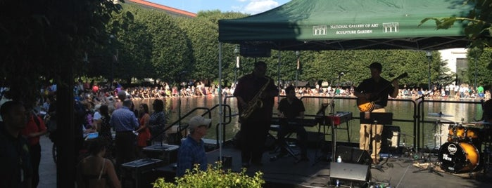 Jazz in the Garden is one of Best Places DC/Metro Area Part 1.