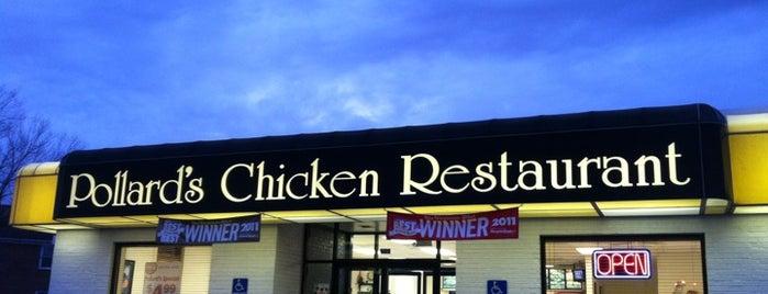 Pollard's Chicken is one of Tempat yang Disukai David.