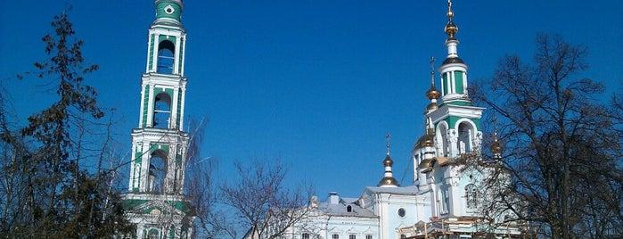 Спасо-Преображенский кафедральный собор is one of Липекцк-Тамбов-Воронеж.