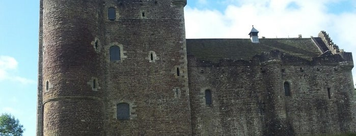 Doune Castle is one of UK Film Locations.