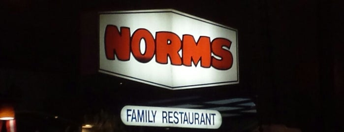 NORMS Restaurant is one of OC Weekly Bebge.