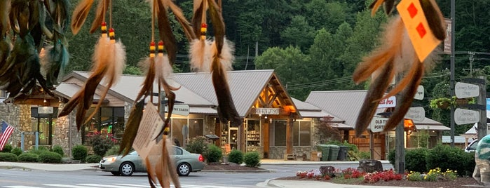 Cherokee Welcome Center is one of North Carolina.
