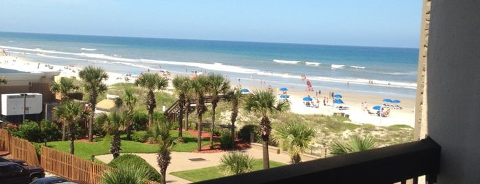 Hampton Inn Jacksonville Beach Oceanfront is one of Jacksonvilleさんの保存済みスポット.