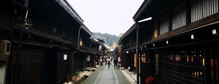 Sanmachi Suji is one of Japan.