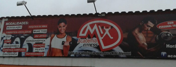 Academia Mix is one of Lugares favoritos de Ingrid.
