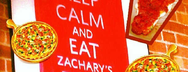 Zachary's Chicago Pizza is one of Berkeley Love.