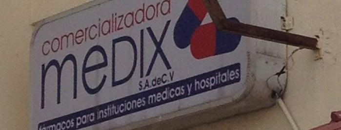Comercializadora Medix is one of Clientes.