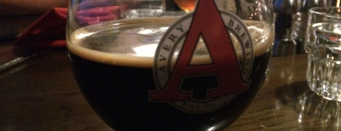 Avery Brewing Company is one of Tempat yang Disukai Benjamin.