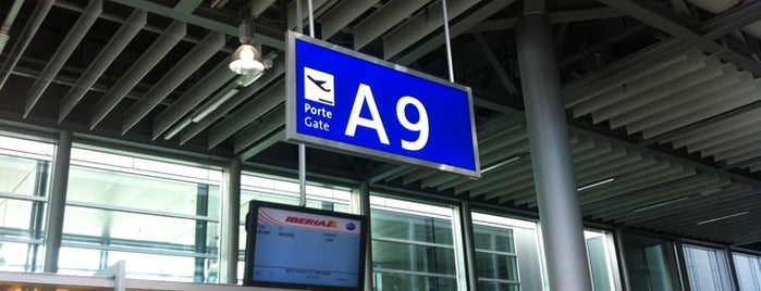 Gate A9 is one of Geneva (GVA) airport venues.