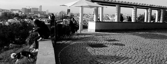 Miradouro do Monte Agudo is one of Lisbon for three (or more) days.
