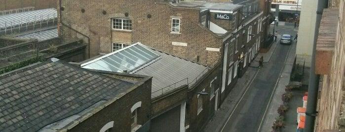 Lillian Penson Hall is one of My London.