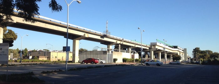 San Leandro BART Station is one of USA 3.