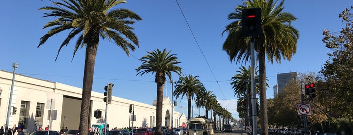 MUNI Metro Stop - The Embarcadero & Greenwich is one of Fleur's San Francisco.
