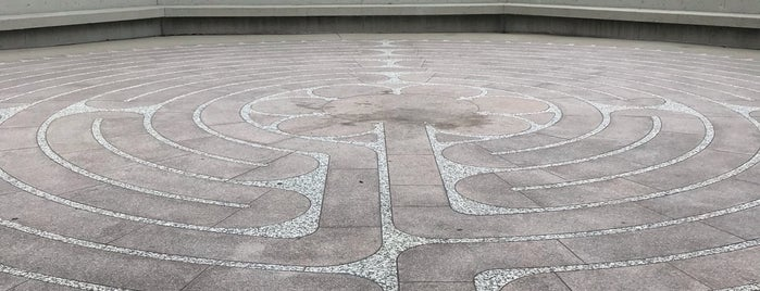 Labyrinth at Grace Cathedral is one of Urban Hikes.