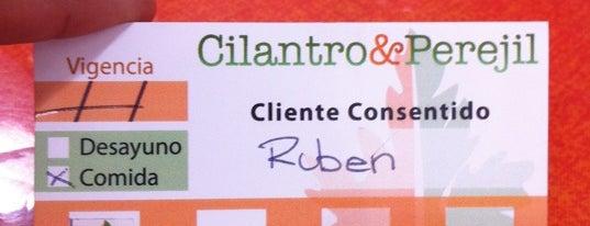 Cilantro & Perejil is one of Comidas en Puebla.