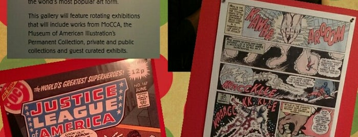 Museum Of Comic & Cartoon Art (MOCCA) is one of NY.